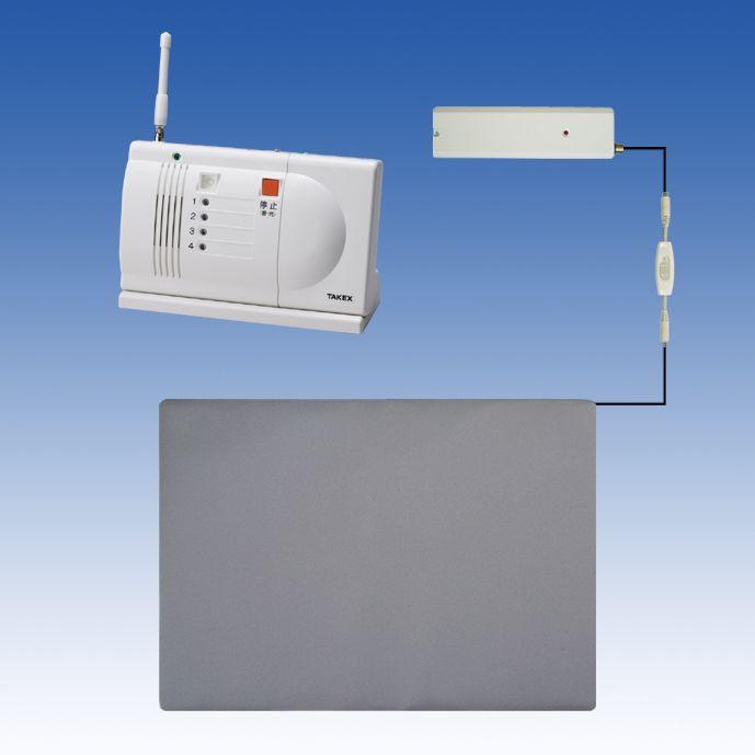 徘徊 お知らせ 無線タイプ(ワイヤレス)卓上型受信機セット 徘徊対策 徘徊防止【HS-W68(T)】TAKEX/竹中エンジニアリング