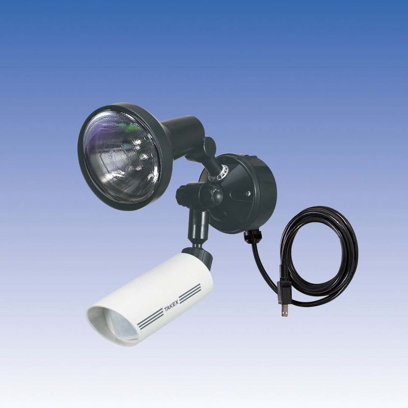 新 人感ライト 音感ライト センサーライト 立体検知型 15m用 1灯用【LC-301WA】TAKEX/竹中エンジニアリング
