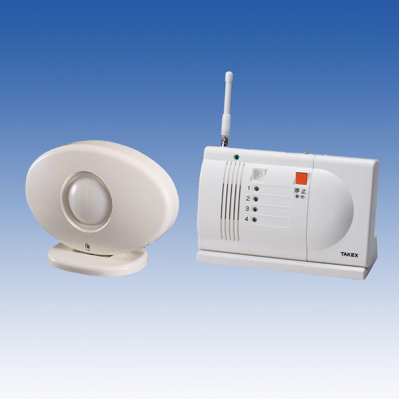 徘徊お知らせ感知くん 卓上型受信機セット【HCS-106(T)】TAKEX/竹中エンジニアリング