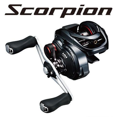 【お買い物マラソン】 シマノ(Shimano) NEWスコーピオン (Scorpion) 71XG LEFT /バス ベイトリール 左ハンドル