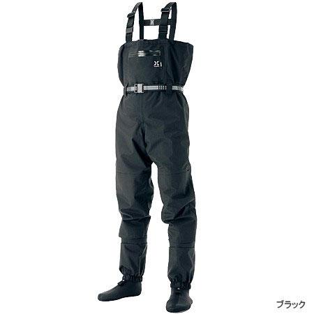 【スーパーセール】 シマノ(Shimano) XEFO・ドライシールド・ストッキングウェーダー ブラック M