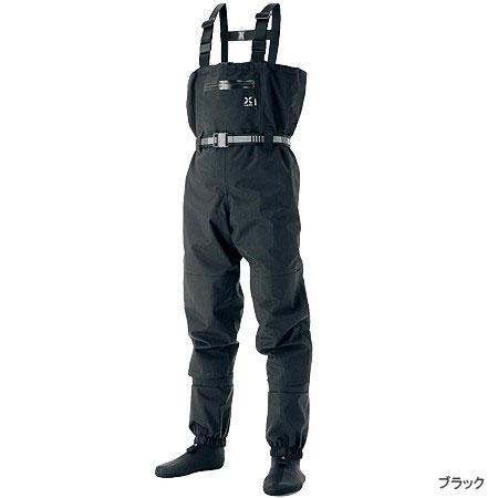 【スマエントリーでポイント10倍】 シマノ(Shimano) XEFO・ドライシールド・ストッキングウェーダー ブラック L 【8月19日(日)10時~8月26日(日)9時59分迄】