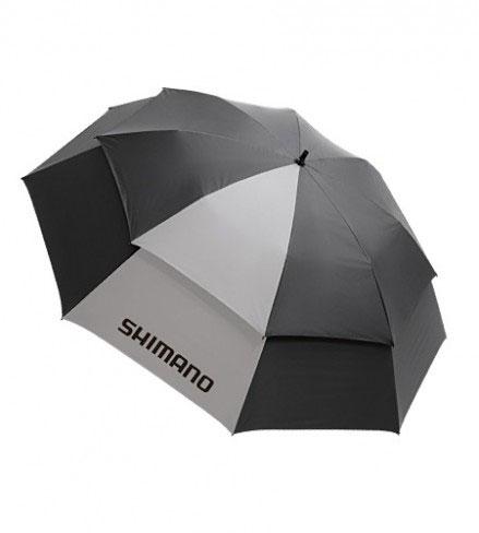 【お買い物マラソン】 シマノ(Shimano) 角度チェンジャー付きパラソル ブラック / シルバー