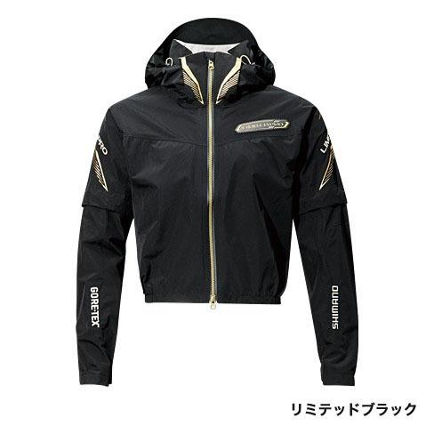 シマノ(Shimano) GORE-TEX・ショートレイン・リミテッドプロ リミテッドブラック 2XL