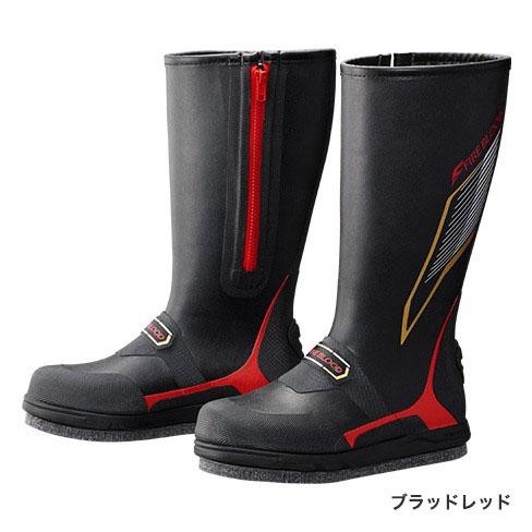 シマノ(Shimano) ジオロック・カットラバーピンフェルトブーツ・FIRE BLOOD ブラッドレッド S