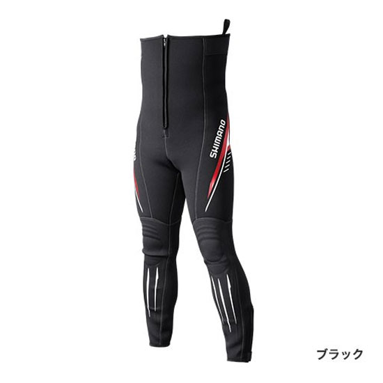 シマノ(Shimano) 鮎タイツ T-2.5 ブラック SB