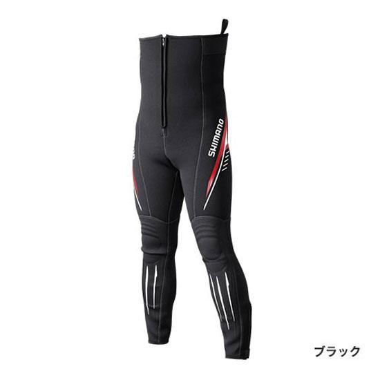 シマノ(Shimano) 鮎タイツ T-2.5 ブラック LB