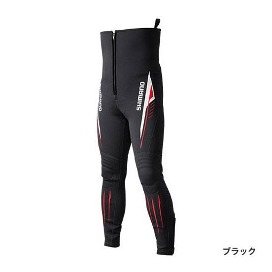 シマノ(Shimano) 鮎タイツ T-1.5 ブラック MA
