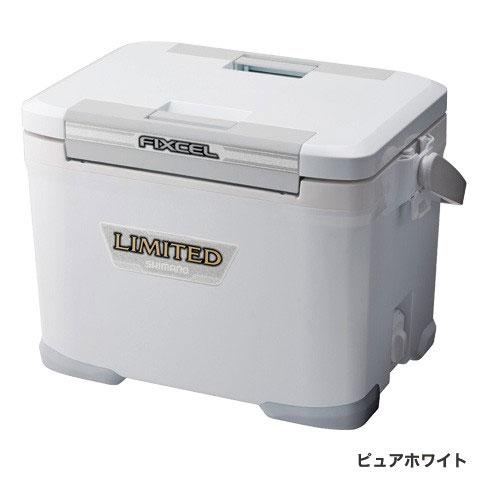 シマノ(Shimano) HF-017N フィクセル・リミテッド 170 ピュアホワイト 17L /クーラーボックス