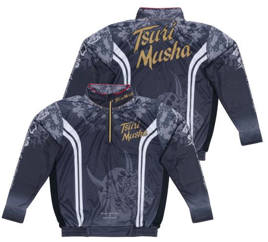 【お買い物マラソン】 釣武者 ネオ・インパクトクールシャツ ブラック XL