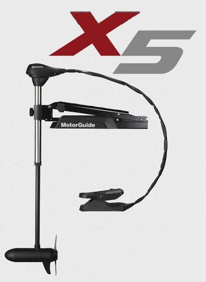 モーターガイド X5シリーズ X5-105V-45 / エレキ モーターガイド