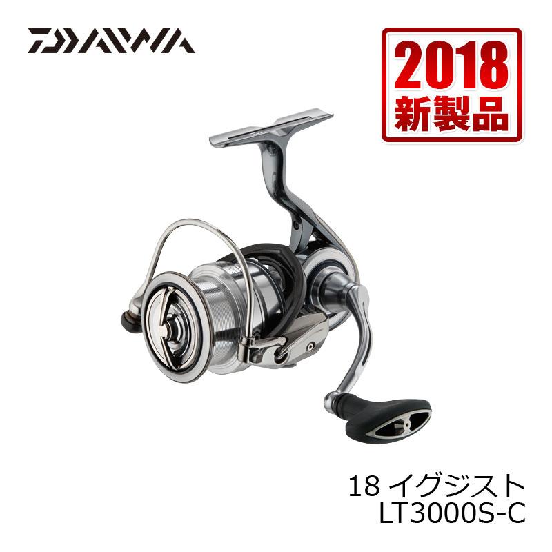 ダイワ(Daiwa) 18イグジスト (EXIST) LT3000S-C /スピニングリール
