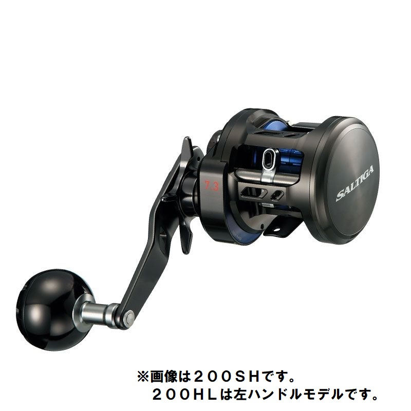 ダイワ(Daiwa) ソルティガ BJ 200HL /ジギング ベイトリール