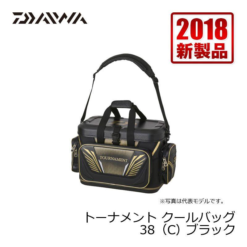 【お買い物マラソン】 ダイワ(Daiwa) トーナメント クールバッグ(C) 38 ブラック / クールバッグ ダイワ(Daiwa) トーナメント