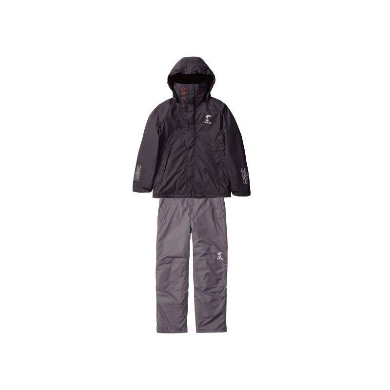 【お買い物マラソン】 サンライン SUW-1807 MPウォームアップスーツ ブラックxチャコール L