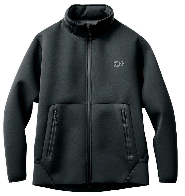 【お買い物マラソン】 ダイワ DJ-2707 ウィンドブロック フルジップパーカ ブラック L