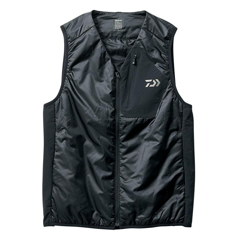 ダイワ DJ-2507 プリマロフト インナーベスト ブラック 2XL