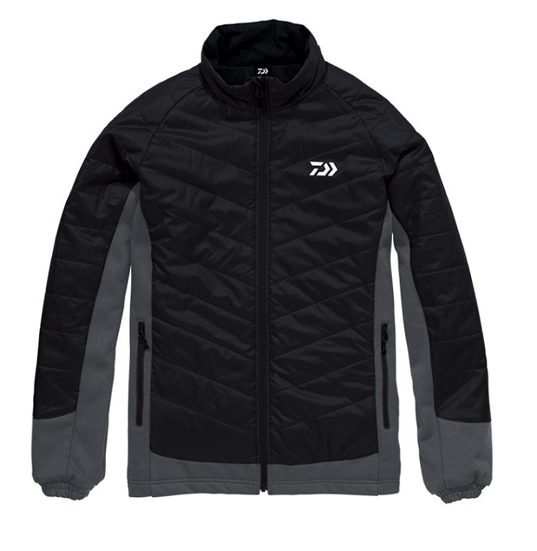 【お買い物マラソン】 ダイワ DJ-29008 ハイブリッドジャケット ブラック M / 釣り 防寒 ジャケット