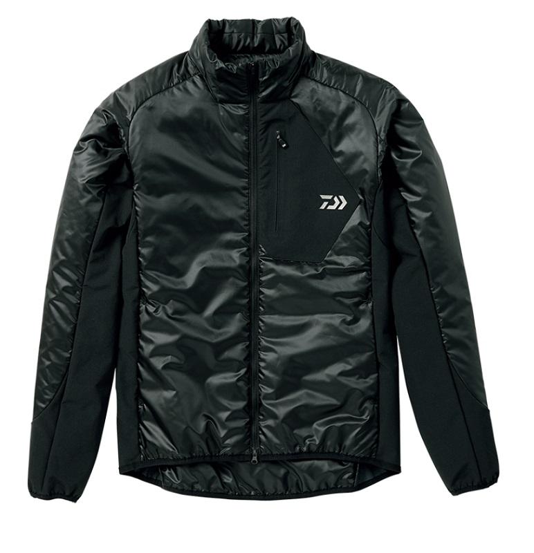 ダイワ DJ-24008 プリマロフト ライトジャケット ブラック L / 釣り 防寒 ジャケット