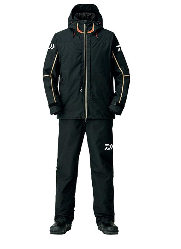ダイワ DW-1808 ゴアテックス プロダクト コンビアップ ウィンタースーツ ブラック XL / 釣り 防寒ウェア 上下セット
