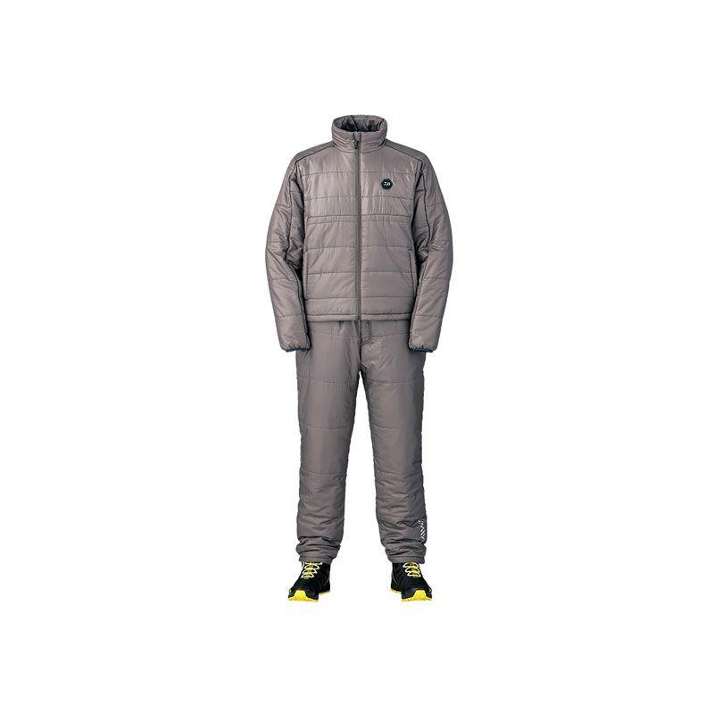 【お買い物マラソン】 ダイワ DI-2007 ヒータースーツ ディープグレー XL