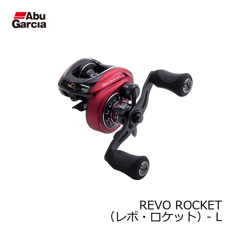 アブ REVO ROCKET-L /ベイトリール 左巻き 【お買い物マラソン ポイント最大44倍】