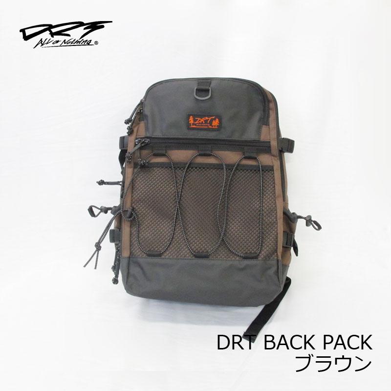 【お買い物マラソン】 DRT DRT バックパック BACK PACK ブラウン