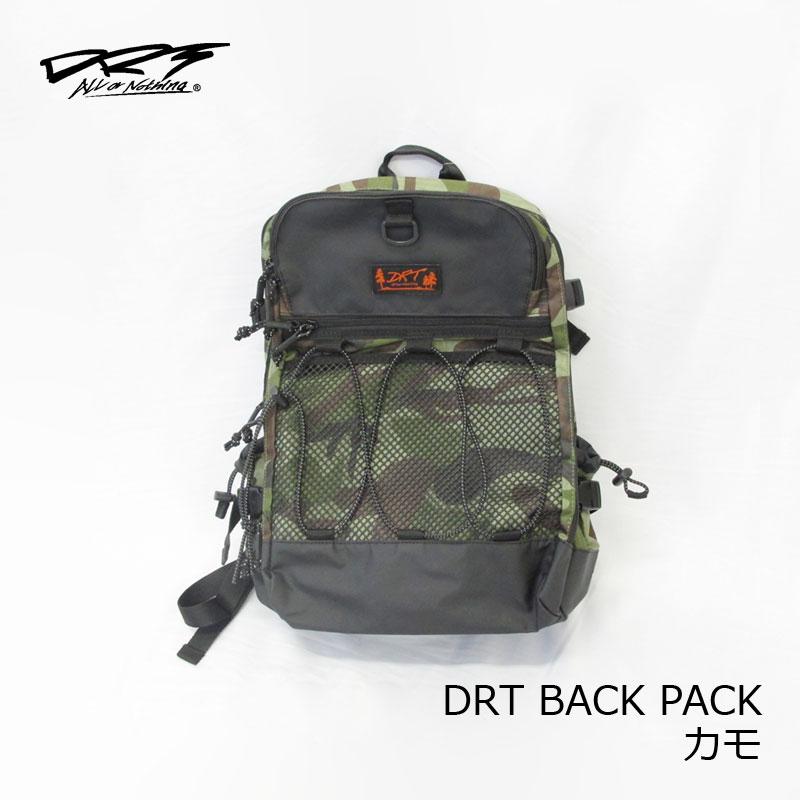 【お買い物マラソン】 DRT DRT バックパック BACK PACK カモ