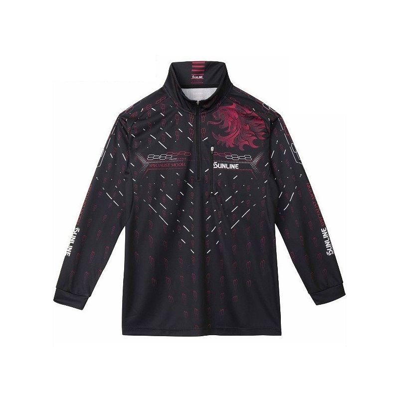 サンライン SUW-5572CW PRODRY シャツ(長袖) ブラック LL / シャツ 長袖 UVカット 吸水速乾 【キャッシュレス5%還元対象】