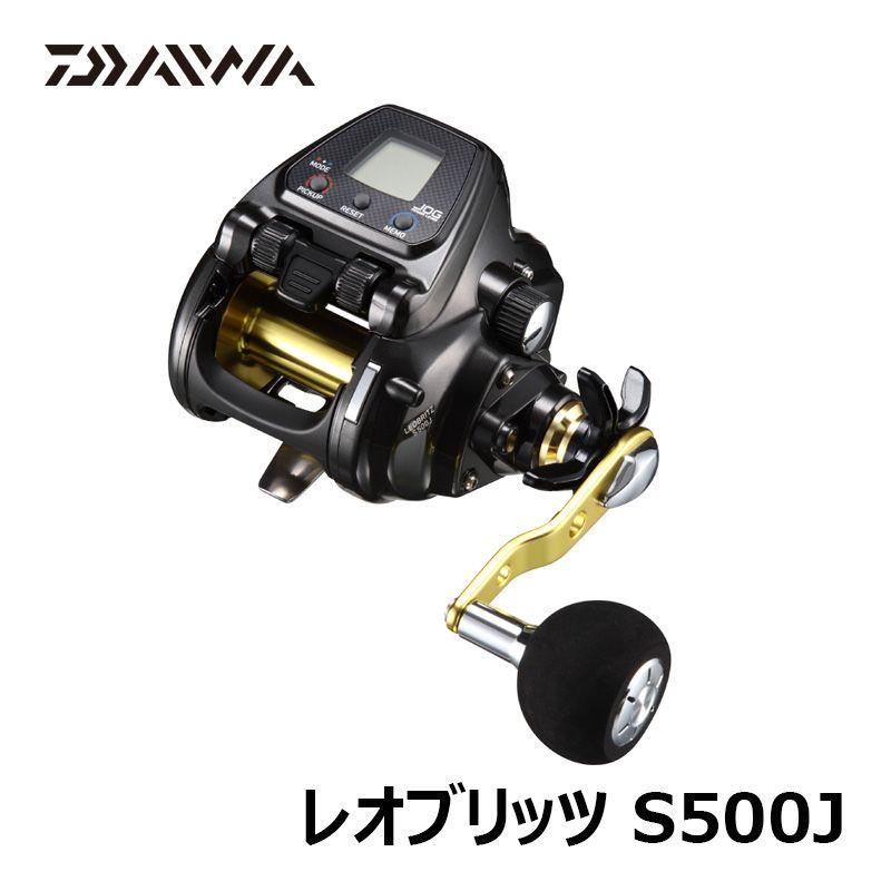 ダイワ(Daiwa) 17 レオブリッツ S500J 電動リール 500サイズ 大型青物・イカ・ライトキンメ・ムツなどの中深場まで 【お買い物マラソン ポイント最大44倍】