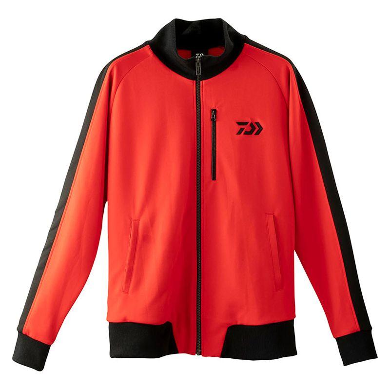 ダイワ(Daiwa) DE-84009J トラックジャケット レッド M / 防寒ウェア 防寒ジャケット 【キャッシュレス5%還元対象】