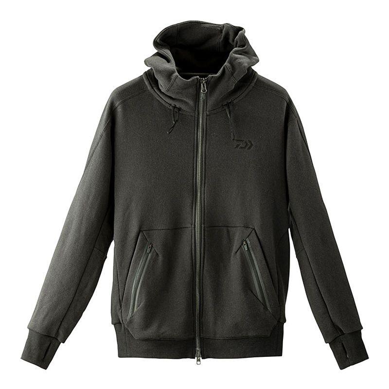 ダイワ(Daiwa) DE-21009J ブレスマジック スウェットフーディー ブラック XL / 防寒ウェア 防寒ジャケット 吸湿発熱 【6/30迄 キャッシュレス5%還元対象】
