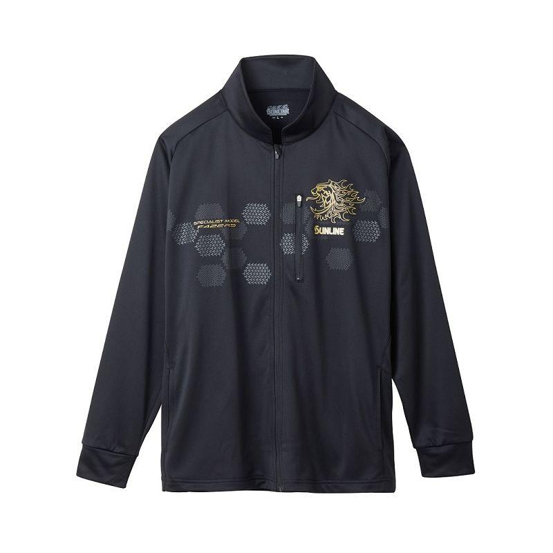 【大感謝祭】 サンライン SUW-5574HT フルジップアップシャツ ブラック LL / 防寒ウェア 防寒シャツ【キャッシュレス5%還元対象】
