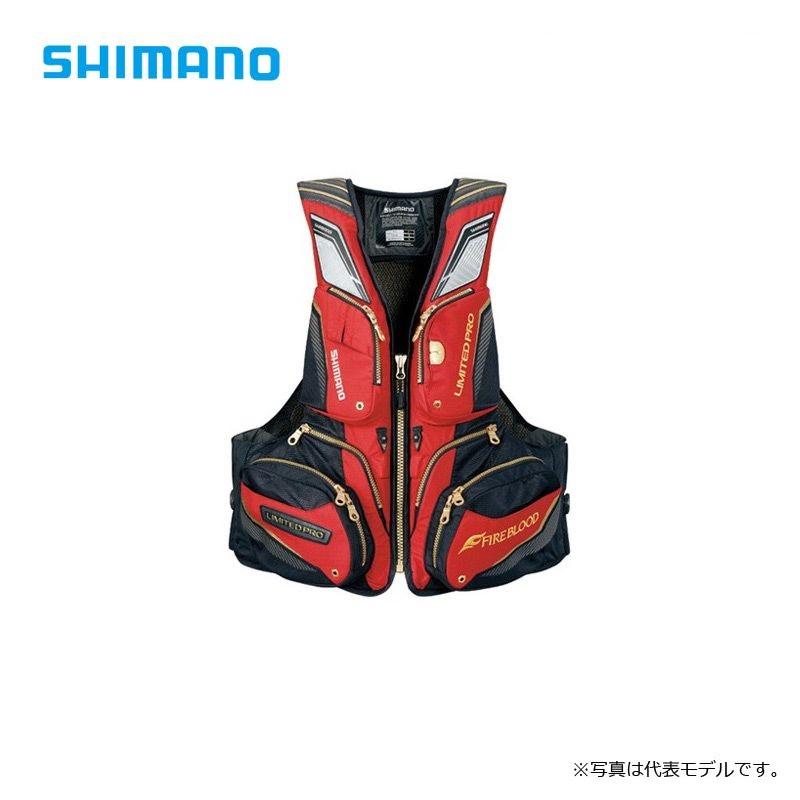 シマノ(Shimano) VF-112R NEXUS・リフレクトフローティングベスト LIMITED PRO ブラッドレッドXL / シマノ(Shimano) フローティングベスト リミテッド ライフジャケット 【お買い物マラソン ポイント最大44倍】