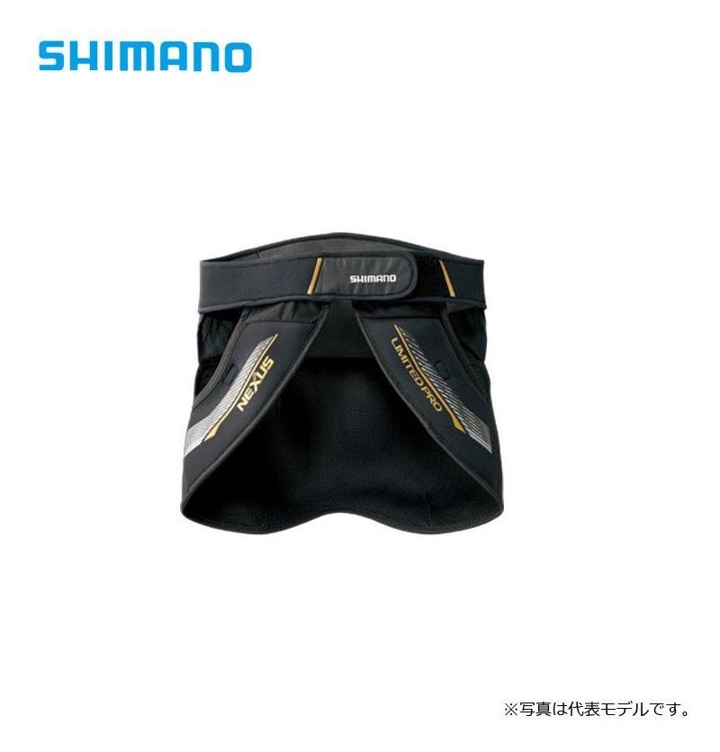 シマノ(Shimano) GU-101R NEXUS・ヒップガード LIMITED PRO LTDブラック 2XL / ヒップガード シマノ(Shimano) 釣り リミテッド 【6/30迄 キャッシュレス5%還元対象】
