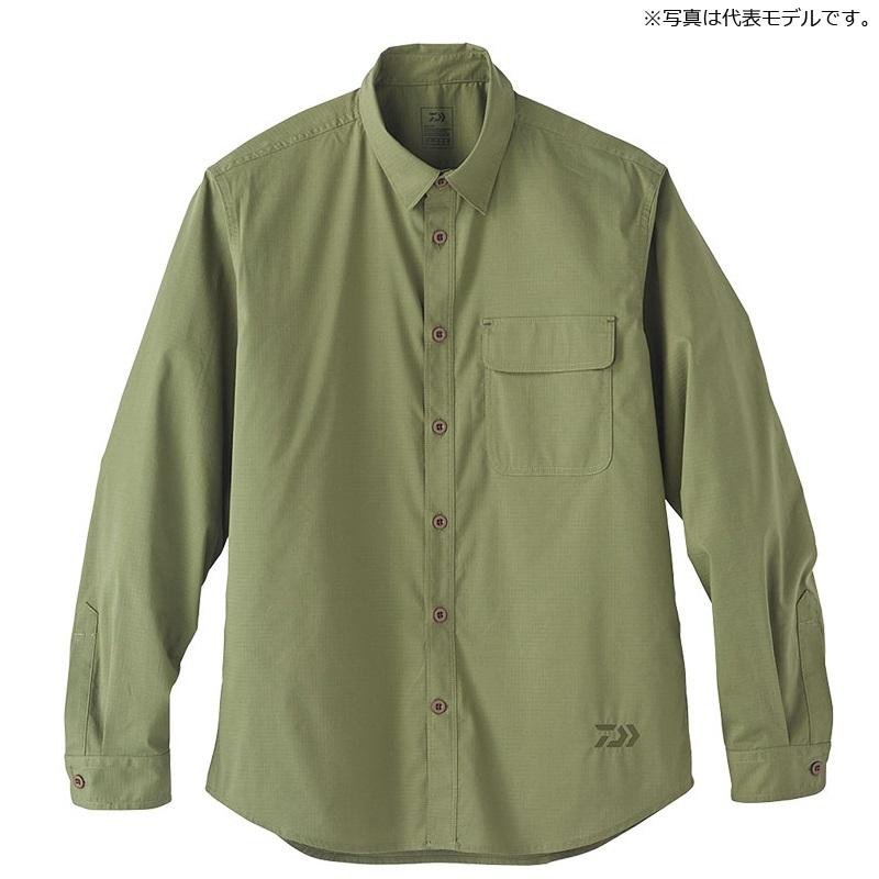 ダイワ(Daiwa) DE-88020 クールマックス(R) ストレッチ シャツ XL オリーブ / ウェア 長袖 シャツ 【6/30迄 キャッシュレス5%還元対象】