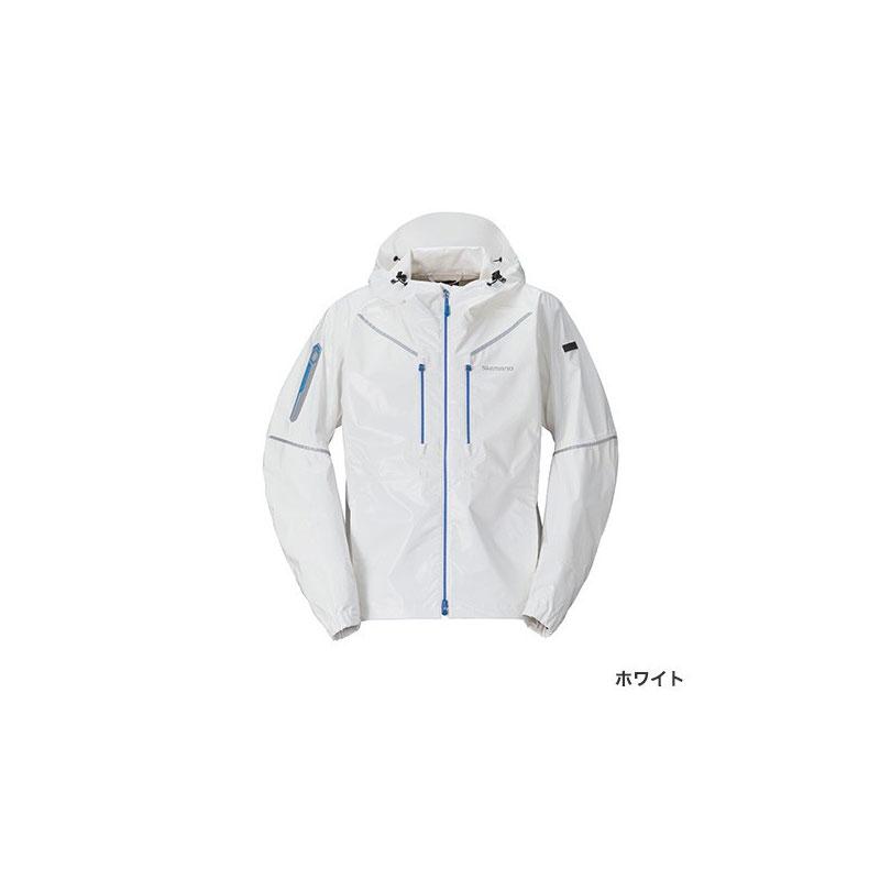シマノ(Shimano) RA-03JT SS・3Dマリンジャケット XL ホワイト / ウェア ジャケット 上着 上のみ 【6/30迄 キャッシュレス5%還元対象】