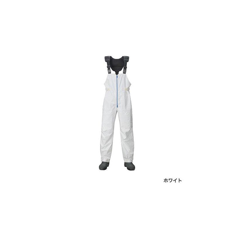 シマノ(Shimano) RA-03PT SS・3Dマリンサロペット L ホワイト / ウェア パンツ 下のみ 【お買い物マラソン ポイント最大44倍】