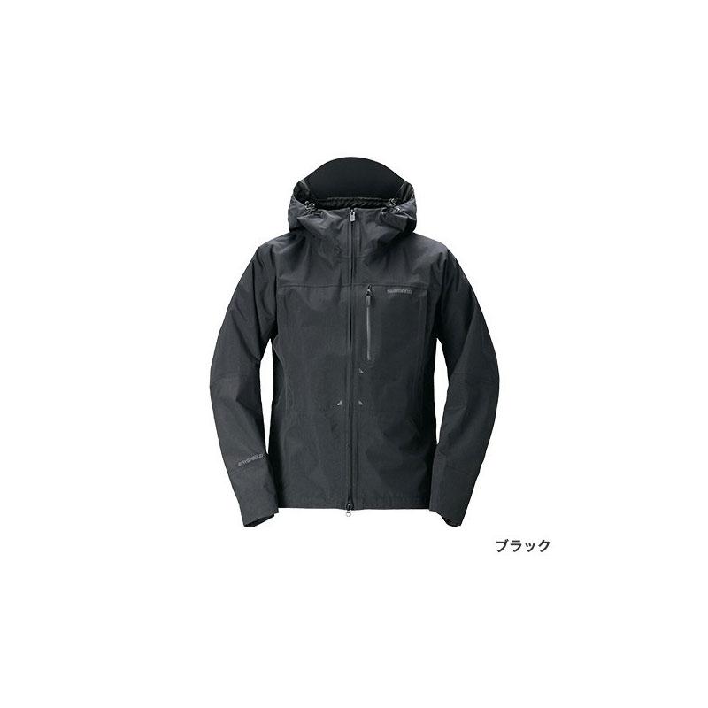 シマノ(Shimano) RA-04JT DSエクスプローラーレインジャケット M ブラック / ウェア ジャケット 上着 上のみ 【お買い物マラソン ポイント最大44倍】