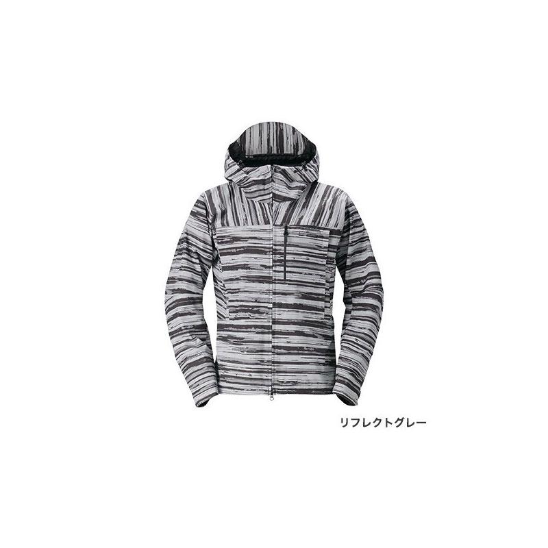 シマノ(Shimano) RA-04JT DSエクスプローラーレインジャケット XL リフレクトグレー / ウェア ジャケット 上着 上のみ 【お買い物マラソン ポイント最大44倍】