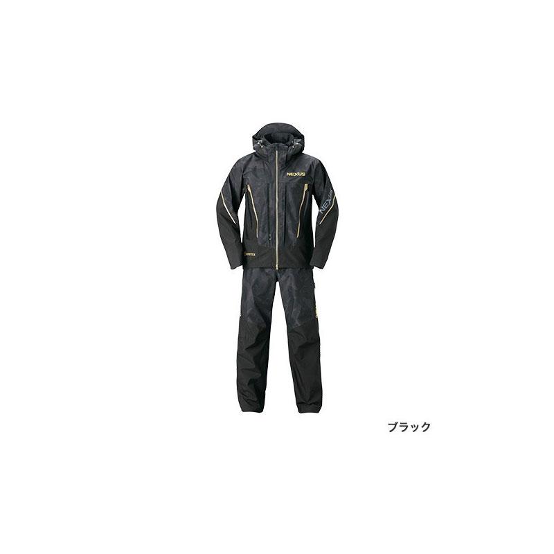 シマノ(Shimano) RA-119T NEXUS・GORE-TEX レインスーツ EX M ブラック / レインウェア セットアップ リミテッドプロ 【お買い物マラソン ポイント最大44倍】