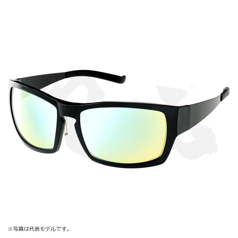 デプス 次元 PAINTENSE GLOSS BLACKフレーム LS(ライトスポーツ)/ブルーミラー / 偏光グラス 眼鏡 サングラス 【6/30迄 キャッシュレス5%還元対象】