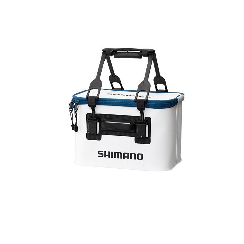 使いやすさを追求したガチットハンドルを搭載 シマノ Shimano BK-016Q バッカンEV 贈り物 36cmホワイト 釣具 釣り具 海外並行輸入正規品