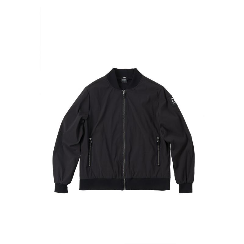 耐久性と保温性を併せ持つMA-1ジャケット ダイワ DJ-5920 L コーデュラMA-1ジャケット ブラック 宅配便送料無料 実物