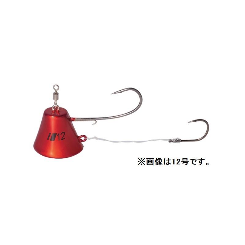 新作販売 ゆっくりフォールで見せて喰わす メジャークラフト TM-FT8 鯛乃実富士山てんや 8号 ケイムラ赤 #004 釣具 卸直営 釣り具
