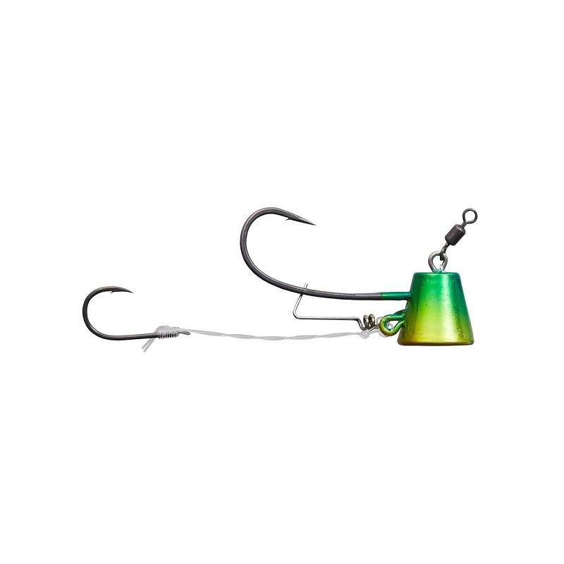 エビをしっかり固定する新型エビロックシステム搭載 ダイワ Daiwa 紅牙タイテンヤ TG SS+エビロック 8号 新品未使用 金 初回限定 緑 釣具 釣り具