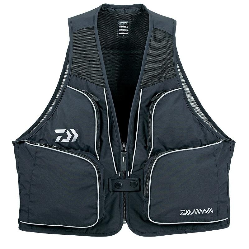 投げ釣りに最適な軽量ベスト ダイワ Daiwa DV-3608 贈与 新作販売 サーフベスト ブラック 釣具 M スーパーセール 釣り具
