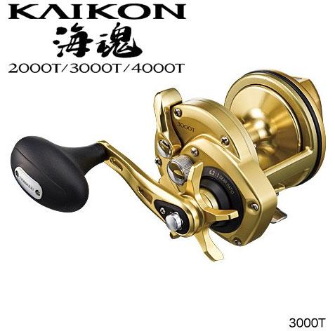 シマノ(Shimano) 海魂[KAIKON] 3000T /両軸リール 石鯛専用