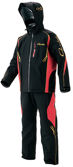 【お買い物マラソン】 がまかつ GM-3460 オールウェザースーツ ブラック 3L / 防寒 上下 透湿防水 釣り