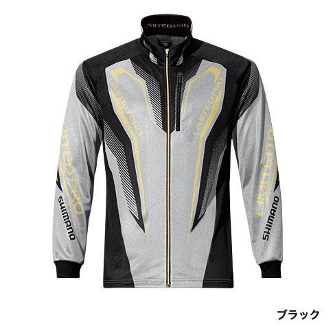 シマノ(Shimano) WT-℃・フルジップリミテッドプロシャツ ブラック 2XL